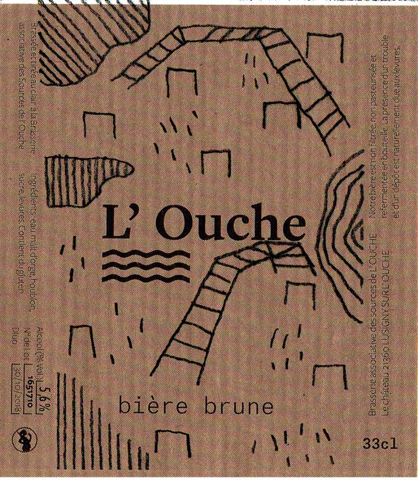 Céline Thoué étiquette l'Ouche 5