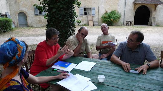 Atelier eau Château de Lusigny