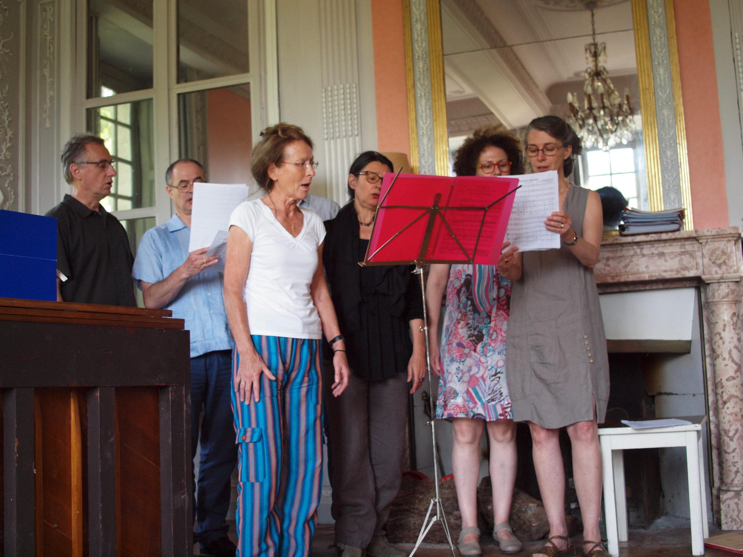 Stage de chant lyrique château de Lusigny