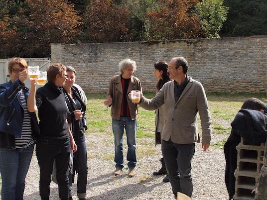 Brasserie des sources de l'Ouche Château de Lusigny on trinque