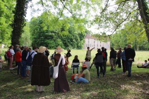 LPO au fond du parc château de Lusigny
