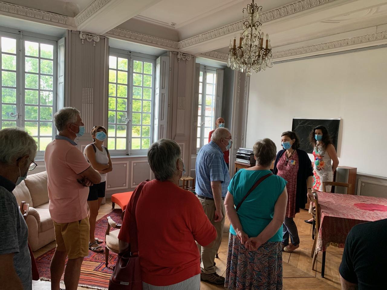 Visite du château de Lusigny